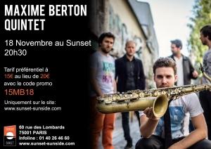 Maxime berton concert sunset
